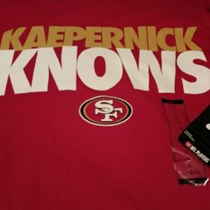 NEW NFL Kaep Knows Shirt size Large